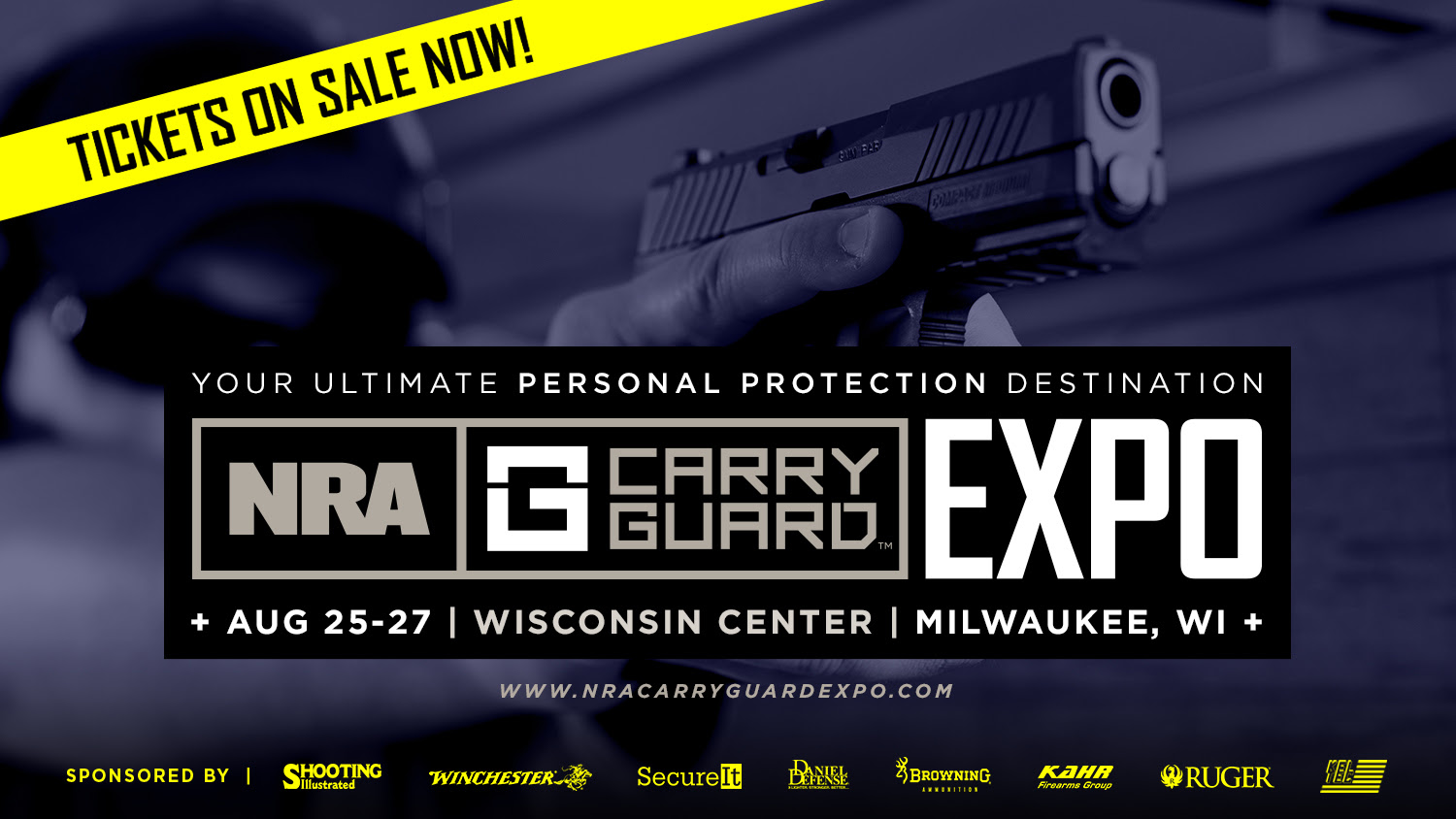 Tickets on sale for the NRA Carry Guard Expo!