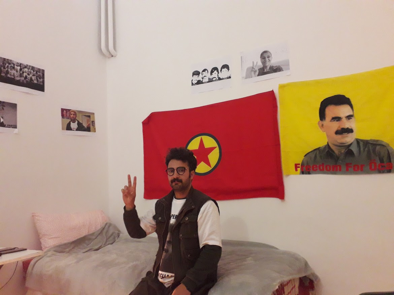 Erol Aydemir nel centro curdo Ararat