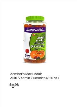 Member's Mark Adult Multi-Vitamin Gummies (320 ct.)