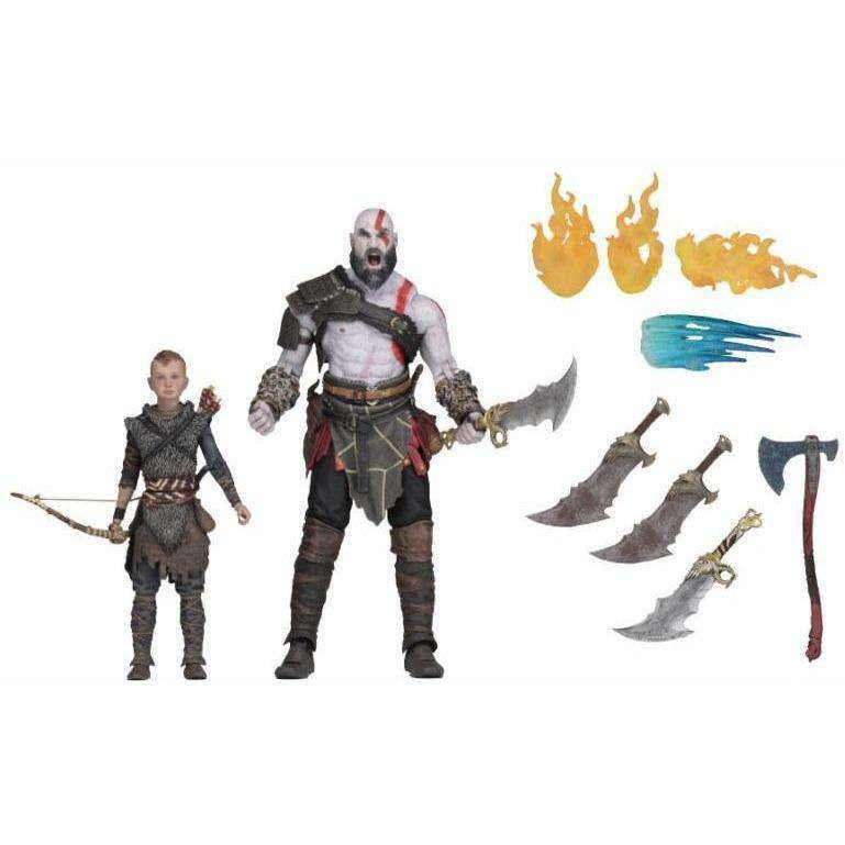 """Image of God of War (2018) - 7"""" Scale Action Figure - Ultimate Kratos & Atreus 2-Pack - January 2019"""