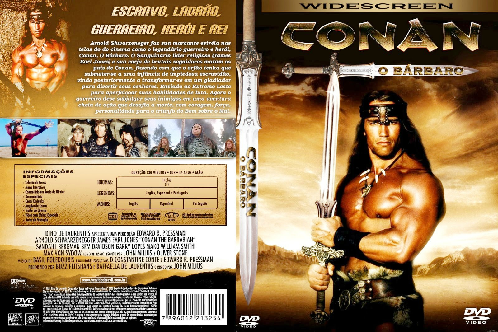 Conan O Bárbaro Torrent – BluRay Rip 1080p Dual Áudio 5.1 (1982)