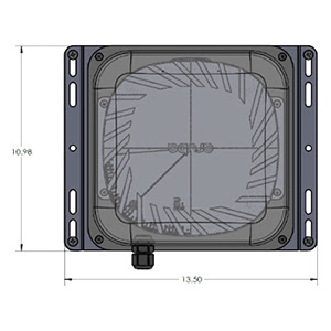 Low Profile Under Seat Enclosure