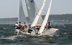 J/22s sailing J/Fest New England