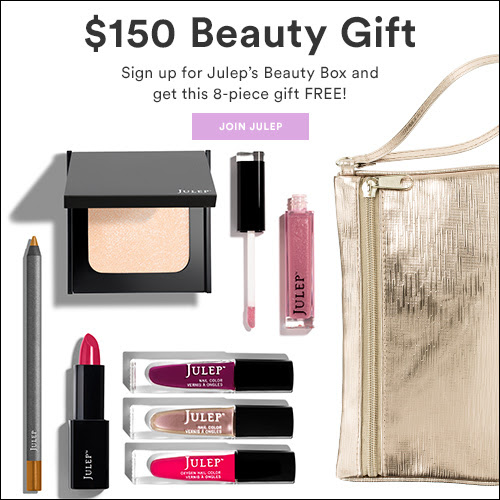 HOT OFFER! Gift Set Valued at $150 with New Julep Beauty Subscriptions
