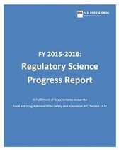 CDER Regulatory Science Progress Report