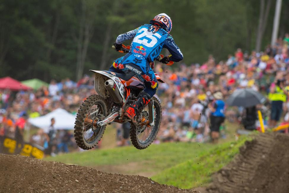 Musquin narrowly missed out on the overall win.Photo: Simon Cudby