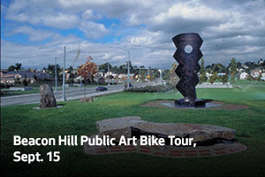 Beacon Hill Public Art Bike Tour, Sept. 15