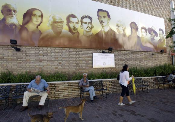 Mural en parquecito Camagüeyano.  Foto: Ismael Francisco/Cubadebate.