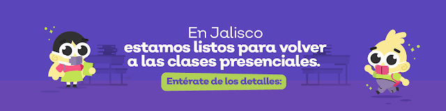 Regreso a clases en Jalisco.
