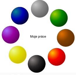 Obrázek: Otázka na postoj k práci (výběr z 3 barev)