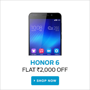 Honor  6 | Flat Rs.2000 Off