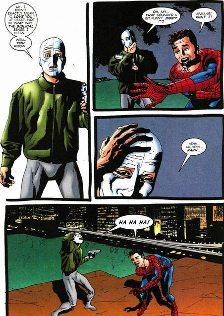 Image result for Chameleon (comics) death