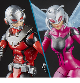 ASTONISHING LEGENDS ANT-MAN & WASP 2-PACK