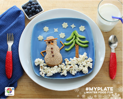 #MyPlate Winter Food Fun