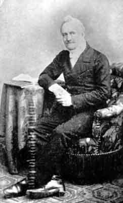 Portrait du pasteur Charles Cordès