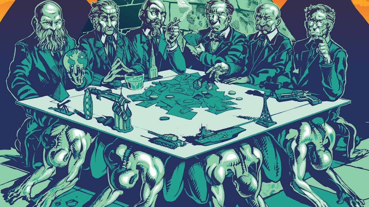War With the International Banking Cartel? Or NESARA? XRuDKsZKMi