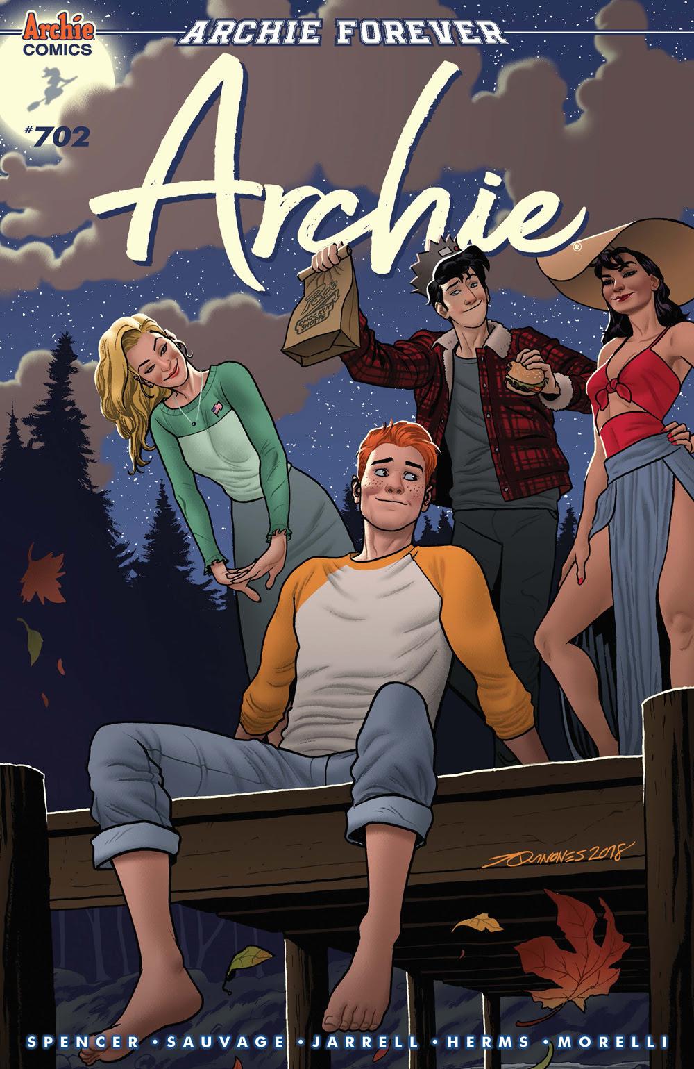 Archie #701: CVR B Quinones