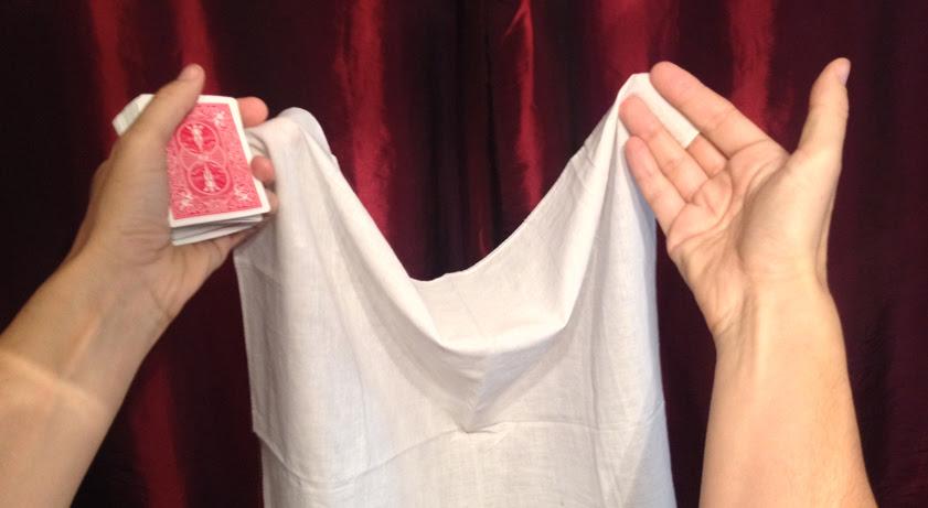 V.I.P. Card Through Handkerchief