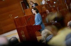 La candidata del PP asume el mandato de Casado de recuperar Madrid como emblema del neoliberalismo