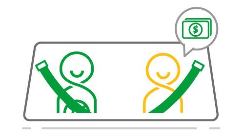 GRAB ra mắt Dịch vụ đi chung xe, tiết kiệm chi phí lên đến 30% | Grabshare 10