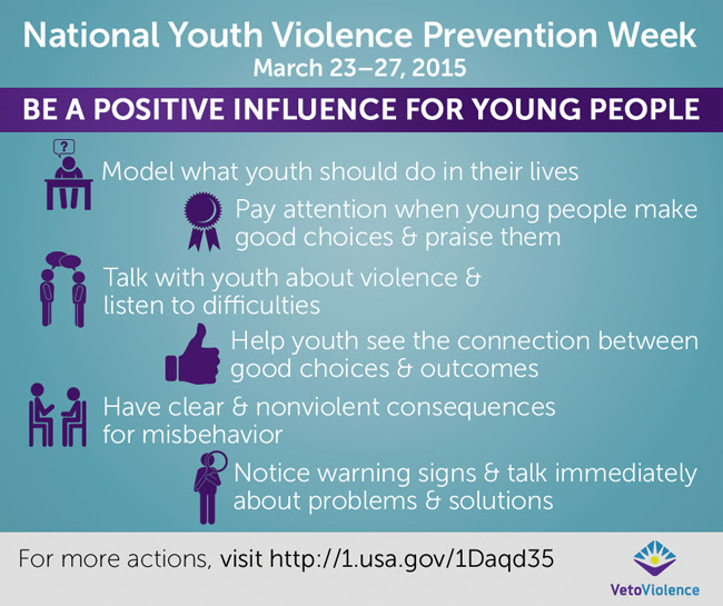 Be a positive influence for young people