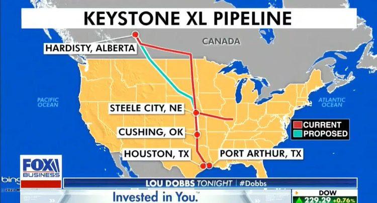 Fourteen states are threatening legal action over Joe Biden ending the Keystone Pipeline