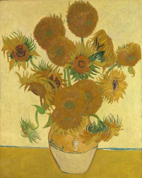 Vincent van Gogh, Sunflowers