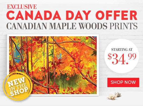 Canada's Maple Woods – Set of Three – V.1