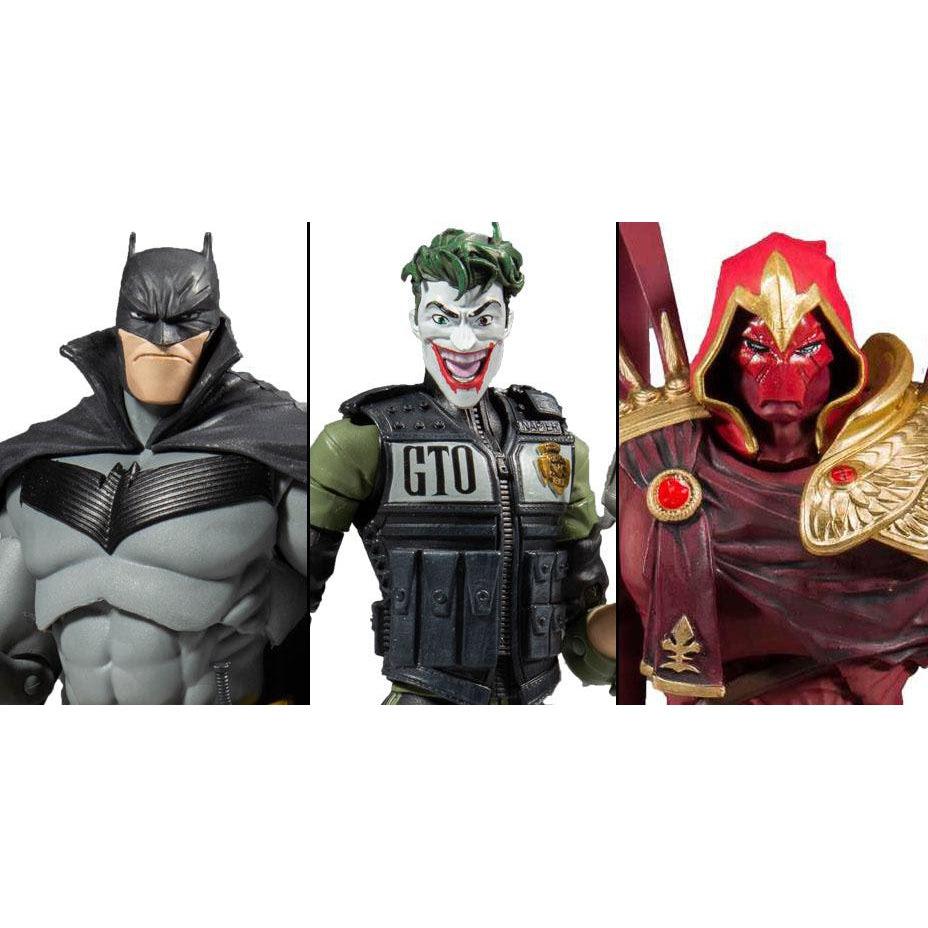 Image of DC Multiverse Batman White Knight Action Figure Set of 3 - JUNE 2020