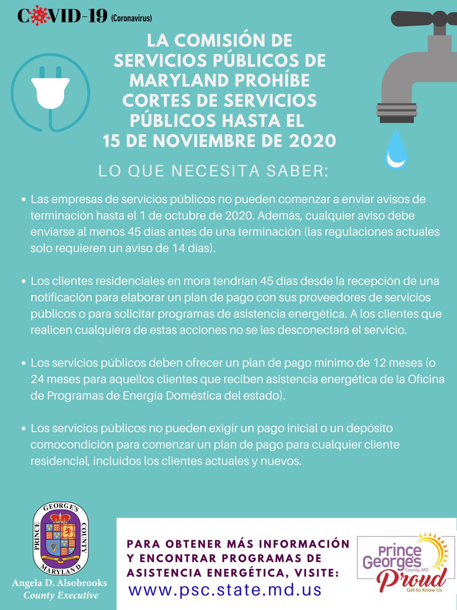 Utility infoSpanish