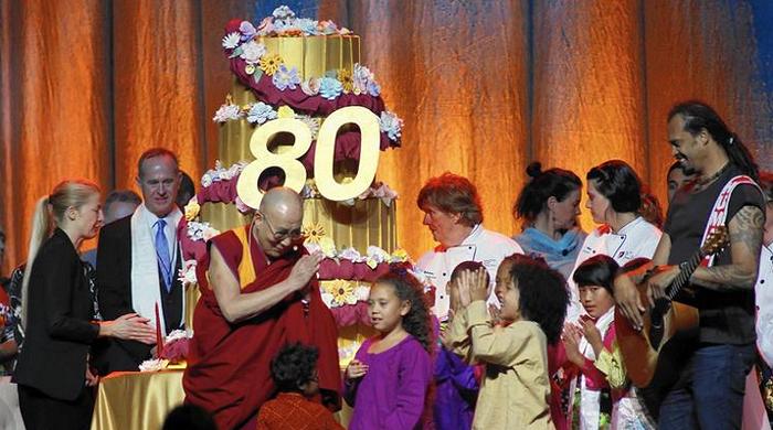 dalai lama at anheim