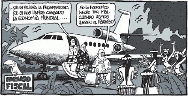 Los paraísos fiscales, protagonistas de la actualidad.