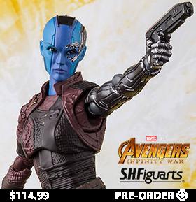 Avengers: Infinity War S.H.Figuarts Nebula Exclusive