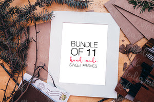 Bundle of 11 Sweet Frames