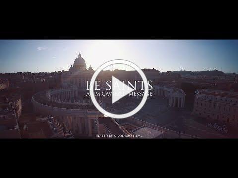 BE SAINTS | A JIM CAVIEZEL MESSAGE [ES SUB] [IT SUB]