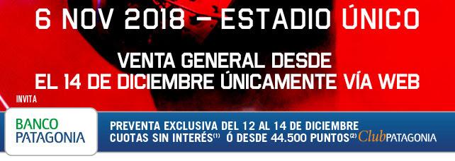 6 de Noviembre - Estadio Unico