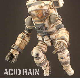ACID RAIN SPACE SCIENTIST