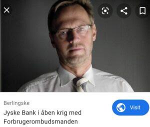 Medvirken direkte eller indirekte i jyske bank 11 års svindel / bedrageri mod kunde Et par søgeord er smuttet med. #JYSKE BANK BLEV OPDAGET / TAGET I AT LAVE #MANDATSVIG #BEDRAGERI #DOKUMENTFALSK #UDNYTTELSE #SVIG #FALSK #Bank #AnderChristianDam Søren Woergaard, Anette Kirkeby, #Financial #News #Press #Share #Pol #Recommendation #Sale #Firesale #AndersDam #JyskeBank #ATP #PFA #MortenUlrikGade #PhilipBaruch #LES #LundElmerSandager #Nykredit #MetteEgholmNielsen #Loan #Fraud #CasperDamOlsen #NicolaiHansen #JeanettKofoed-Hansen #AnetteKirkeby #SørenWoergaaed #BirgitBuchThuesen #Gangcrimes #Crimes #Koncernledelse #jyskebank #Koncernbestyrelsen #SvenBuhrkall #KurtBligaardPedersen #RinaAsmussen #PhilipBaruch #JensABorup #KeldNorup #ChristinaLykkeMunk #HaggaiKunisch #MarianneLillevang #Koncerndirektionen #AndersDam #LeifFLarsen #NielsErikJakobsen #PerSkovhus #PeterSchleidt