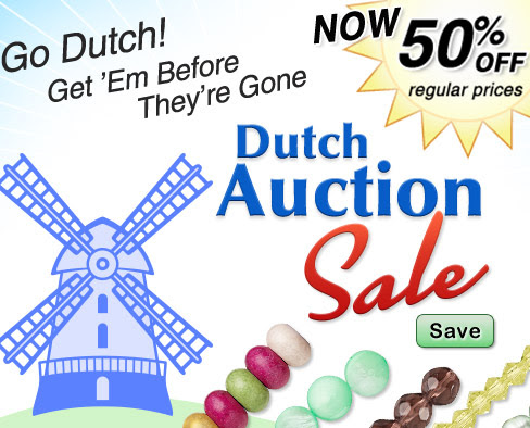 50% OFF in the Dutch Auction S...