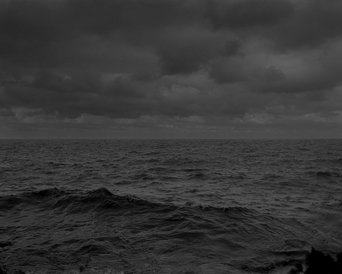Dawoud Bey, Untitled #25 (Lake Erie and Sky), from Night Coming Tenderly, Black, 2017