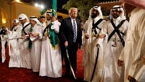 Image result for pictures of trump in saudi arabia