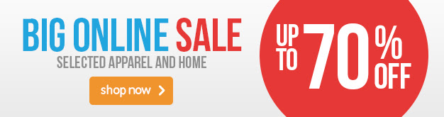Save up to 70% off selected apparel & home at BigW.com.au