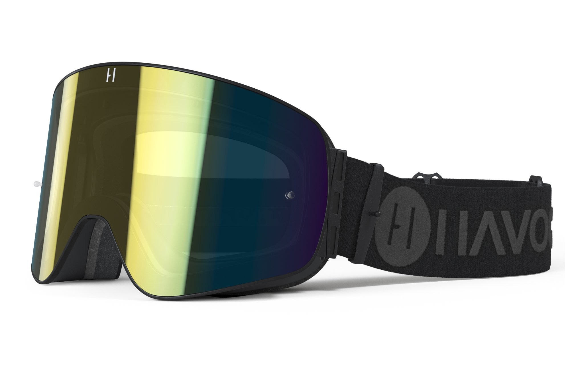 Havoc Racing Co Infinity Goggle (Obsidian)