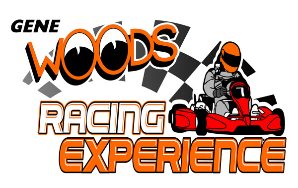 Gene Woods Racing Experience Logo white