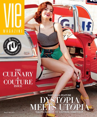 VIE Magazine March / April 2017 cover