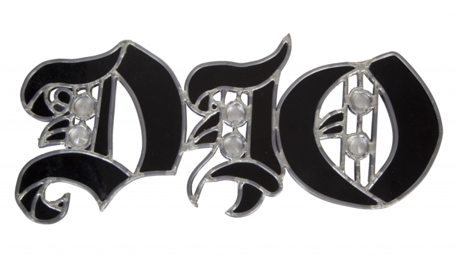 RONNIE JAMES DIO FAN ART STAINED GLASS PLAQUE
