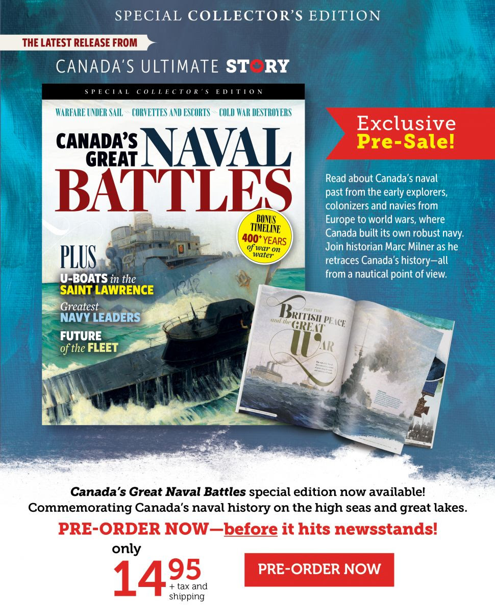 Canada's Great Naval Battles - Special Issue