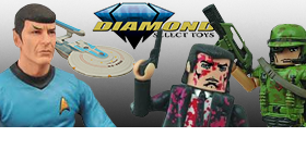 DIAMOND SELECT NEW ARRIVALS
