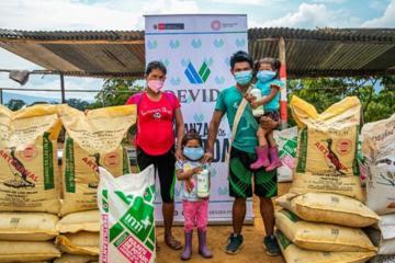 Devida entrega 450 toneladas de guano para cultivos de café