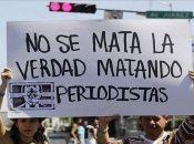 Los periodistas en Honduras se manifiestan contra la inseguridad y el control gubernamental.